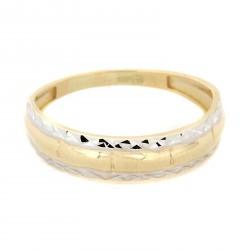 Zlatý prsten TS427