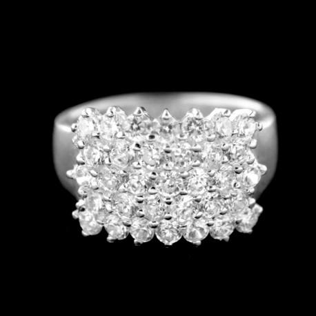 Stříbrný prsten R688