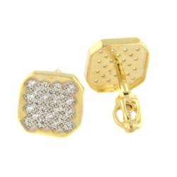 Zlaté náušnice PZE153