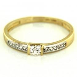Zlatý prsten PYZ2840