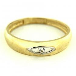 Zlatý prsten PYZ2749