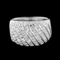Stříbrný prsten R691