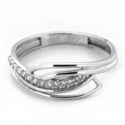 Zlatý prsten AZR163 W