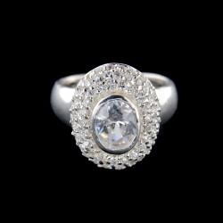 Stříbrný prsten R655
