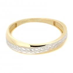 Zlatý prsten TS431