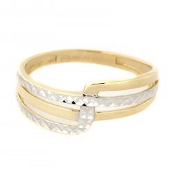 Zlatý prsten TS458