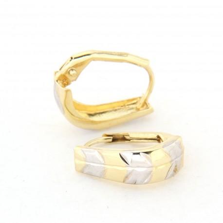 Zlaté náušnice E10336-067