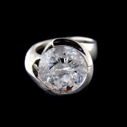 Stříbrný prsten R549