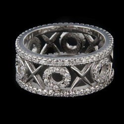 Stříbrný prsten R1190