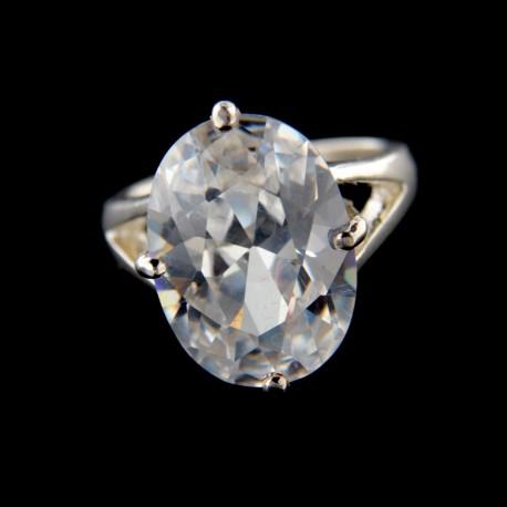 Stříbrný prsten R628