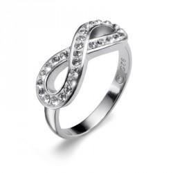 Stříbrný prsten Oliver Weber Infinity - 63029