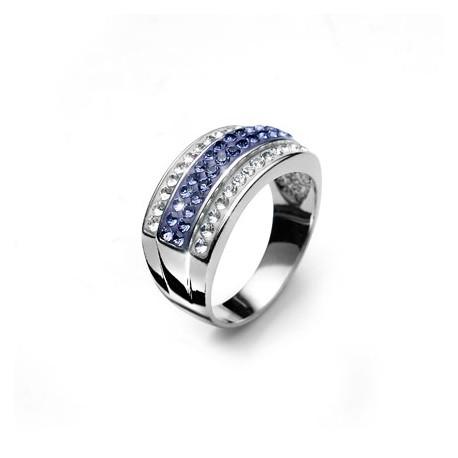 Stříbrný prsten Bar - 7722