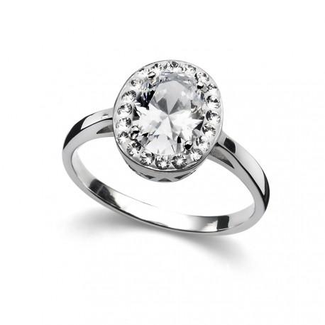 Stříbrný prsten Oliver Weber Pure - 63210