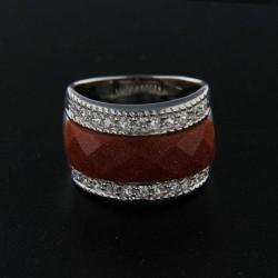 Stříbrný prsten R125