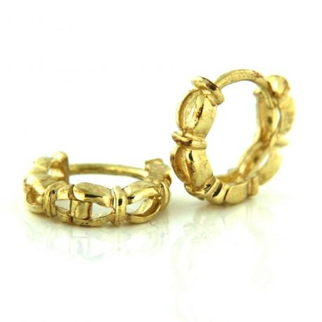Zlaté Náušnice E14