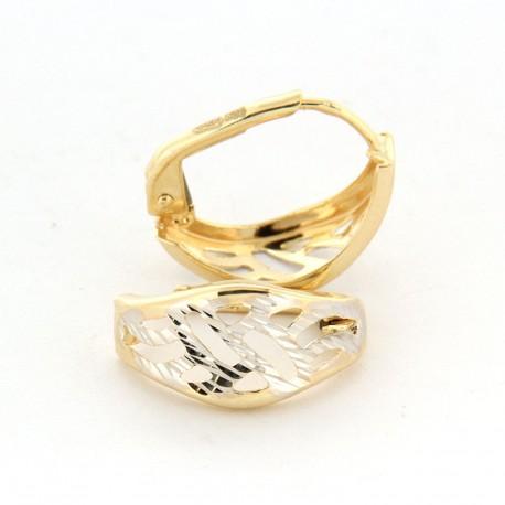 Zlaté náušnice E10344-1349