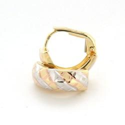 Zlaté náušnice E10339-002