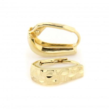 Zlaté náušnice E10336-1283