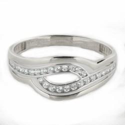 Zlatý prsten R25-2925-1W