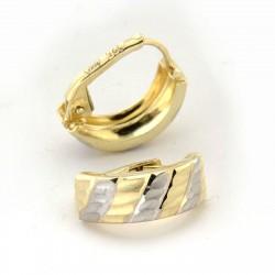 Zlaté náušnice E10332-1010