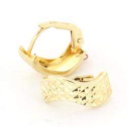Zlaté náušnice E10341-008