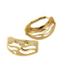 Zlaté náušnice E10344-1363-2