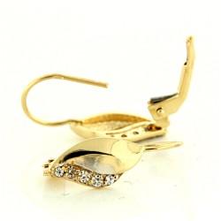 Zlaté náušnice E10500-250