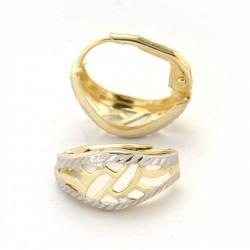 Zlaté náušnice E10344-1341
