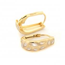 Zlaté náušnice E10336-1286