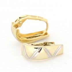 Zlaté náušnice E10336-058