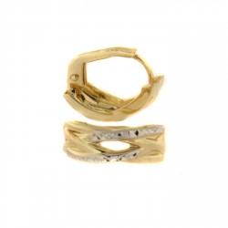 Zlaté náušnice E10421-002