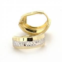 Zlaté náušnice E10332-1179