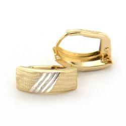 Zlaté náušnice E10333-1353-1