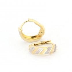 Zlaté náušnice E10337-1301