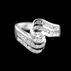 Stříbrný prsten R702