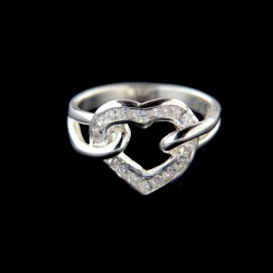 Stříbrný prsten R590
