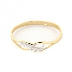 Zlatý prsten A-DC-615