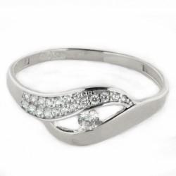 Zlatý prsten R25-2194-2W