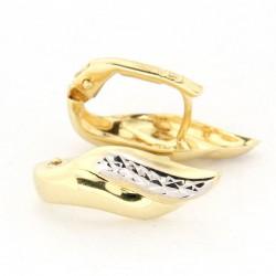 Zlaté náušnice E10372-056