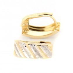Zlaté náušnice E10333-1358