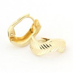 Zlaté náušnice E10341-020