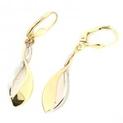 Zlaté náušnice E10156-1600