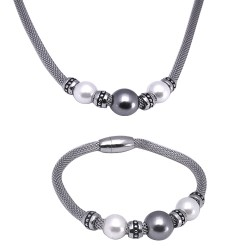 Set Tribal 010 náhrdelník a náramek