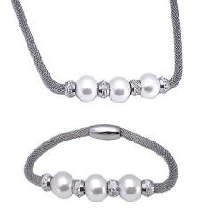 Set Tribal 012 náhrdelník a náramek