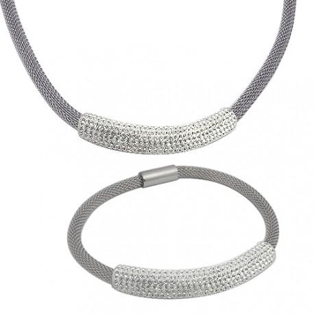 Set Tribal 134 náhrdelník a náramek