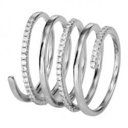 Prsten stříbrný SRJ58
