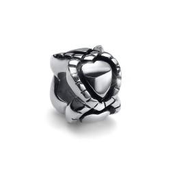 Korálek na náramek Oliver Weber Match Bead Multilover - 55022 (steel crystal)