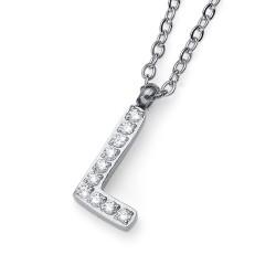 "Přívěsek Oliver Weber Initial ""L"" - 11841 (crystal)"