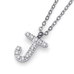 """Přívěsek Oliver Weber Initial """"J"""" - 11839 (crystal)"""