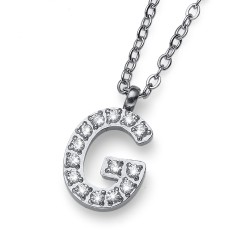 """Přívěsek Oliver Weber Initial """"G"""" - 11836 (crystal)"""